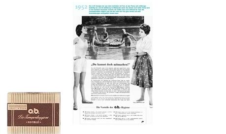 o.b.® tamponer Historie - De tidlige år af ob® (1952)
